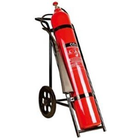 CO2 Mobile Fire Extinguisher - 45 kg