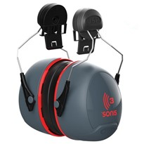 Helmet Mounted Ear Muffs | Sonis Defenders