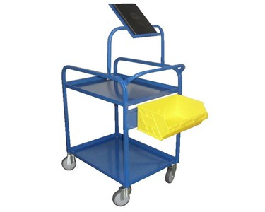 Bin Trolley With Optional IPad Holder
