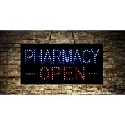 Animated Open Pharmacy LED Sign