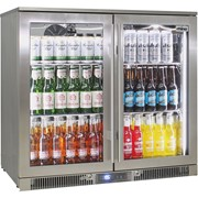 Rhino | 2 Door Bar Fridge  Alfresco Envy | ENV2H-SS