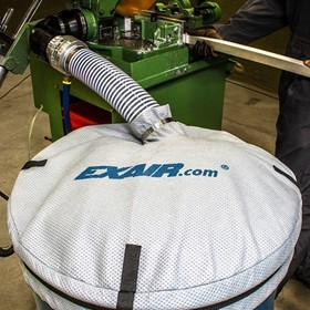 EXAIR Drum Cover Keeps Bulk Material Contained & Free of Contaminants