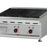 Hargrill Lava Rock Electric Griddle Twin Burner
