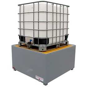 Stratex Steel IBC Bunded Spill Pallets - Double & Single Pallets