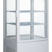 Norsk White Display Fridge 86L