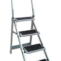 4 Step Compact Step Ladder Little Monstar - 150kg rated