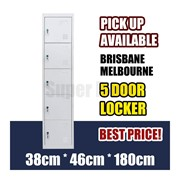 5 Door Security Locker