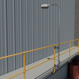 Light Mounting | Lighting Pole | Handrail Stanchion LMS 113