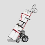 Multi Gas Cylinder Hand Truck Dual Nose | Hand Truck