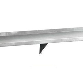 2400mm Solid Wall Shelf w/ Brackets