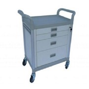 Modular Utility Trolley with 4 Wide Drawers