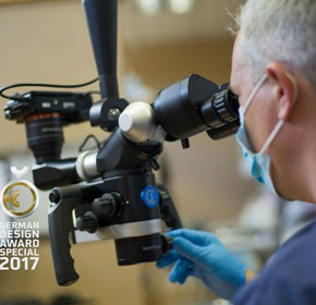 The New FLEXION Dental Microscope Won German Design Award 2017