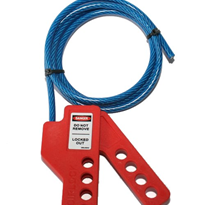 Multifunction Cable Lockout Device | Plastic Housing & Steel Cable