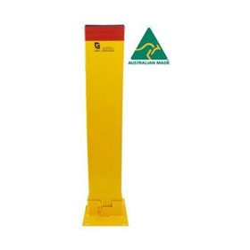Fold-Down Bollard | 150×50mm X 800mm Height Padlock
