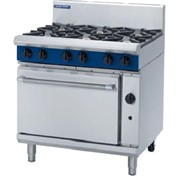 Gas Range Static Oven Blue Seal Evolution Series G506D - 900mm