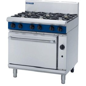 Gas Range Static Oven Evolution Series G506D - 900mm