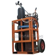 Gas Cylinder Welding Trolley