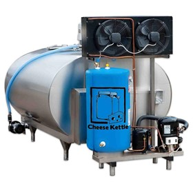 Milk Cooling Tank w/ Chiller and CIP System