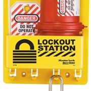 Master Lock Lockout Station