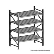 Open Span Shelving | 2000H x 1500W x 900D Steel Shelf Panels