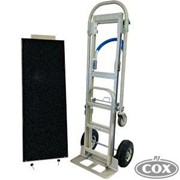 Film Cart with Shelf on Magliner Style Gemini Senior Hand Truck