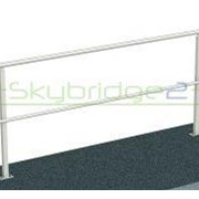Skybridge2 Aluminium Handrail | Fixed to Concrete MW821.01