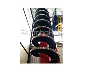 SPIRAL CONVEYOR RECORD – 165 METERS!