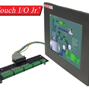 "Stand-alone 6"" HMI Touch Screen Panel and PLC"