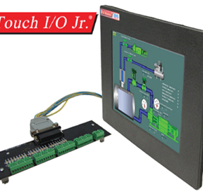 Stand-alone HMI Touch Screen Panel and PLC