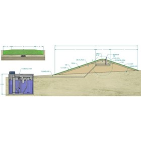Water Treatment Tank | Eco Mound Septic Tank