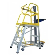Lift Truck Platform Ladder 3.735m | Stockmaster
