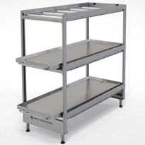 Bariatric Rack 3 Tier Cool Room (Static) | Coffin Racks