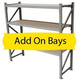 Add-On Bay Dallas Longspan Shelving