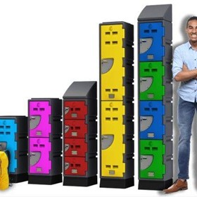 Custom Made Storage Plastic Lockers | E Series