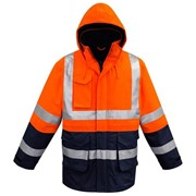 Hi-Vis WorkWear | FR Arc Rated Anti Static Waterproof Jacket