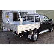 Heavy Duty Alloy UTE Tray | 1880L x 1855W