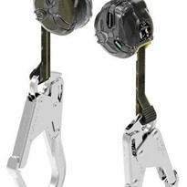 MSA V-TEC™ Fall Protection - Twin Leg, 1.8m w/ Alloy Scaffold Hooks