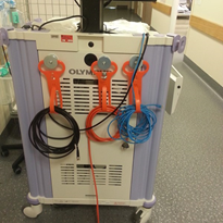 Cable support solution for operating theatres