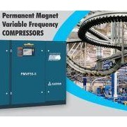 Permanent Magnet Variable Frequency Rotary Screw Air Compressors
