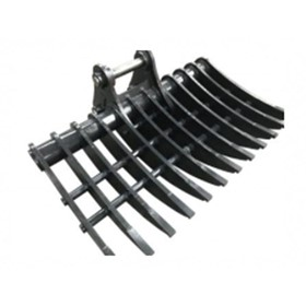 Excavator Attachments I Stick Rake