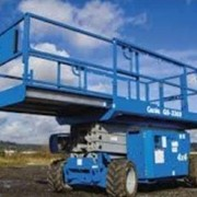 Rough Terrain Scissor Lifts - GS 3369 RT