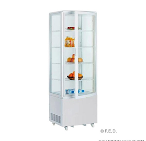 Refrigerated 4 Sided Display Merchandiser | BELLVIEW RT215L