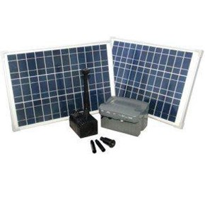 Solar Powered Waterfall Pump | RSFB1600