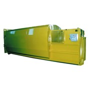 Easyquip | Hook Lift Transportable Waste Compactor