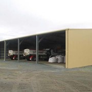 Open Bay Farm Sheds