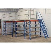 Longspan Supported Mezzanine