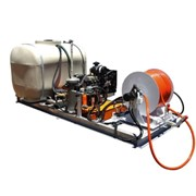 Powered Drain Cleaner - Skid Mounted |  DJ105-200 KD2204