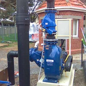 Self Priming Sewage Pump | Gorman-Rupp T10A3S-B