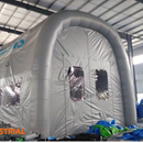 Cleaning up the soda blasting industry one inflatable at a time