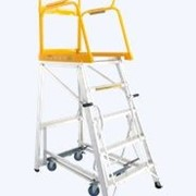Navigator Mobile Platform Ladder | Stockmaster